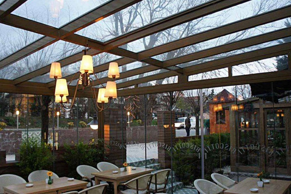 Insulated Single Glass Roof System - Insulated Single Glass Roof System – Pergola Technical