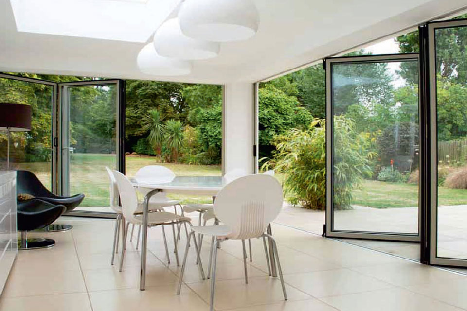 Accordion Glass Door Pergola Technical
